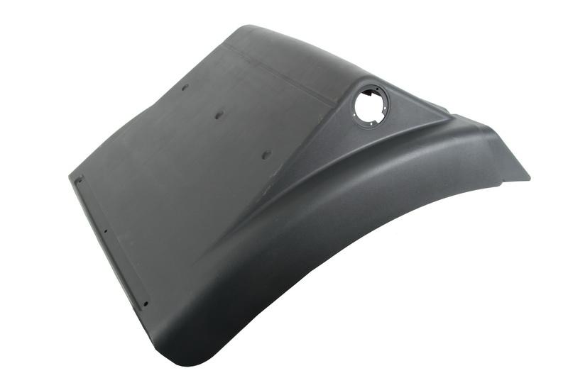 Заднее крыло MAN TGS передняя часть 81664106608